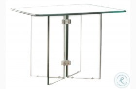 Alouette Clear End Table