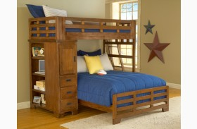Heartland Twin Over Full Student Loft  Bed