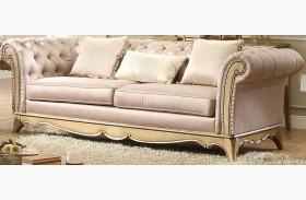 Chambord Champagne Gold Sofa