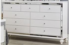 Alonza Bright White Dresser