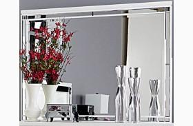Alonza Bright White Mirror