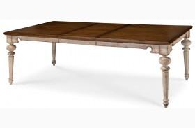 Belmar Antique Linen Rectangular Extendable Dining Table