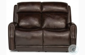 Stanley Power Reclining Loveseat With Power Headrest