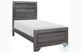 Beechnut Gray Youth Panel Bed