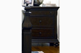 Down Home Molasses 3 Drawer Nightstand