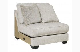 Rawcliffe Parchment Armless Chair