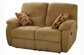 Manchester Cocoa Power Reclining Loveseat