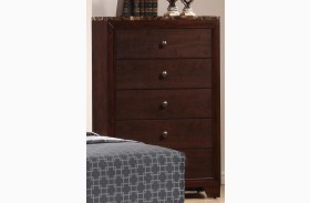 Conner Faux Marble Top Chest
