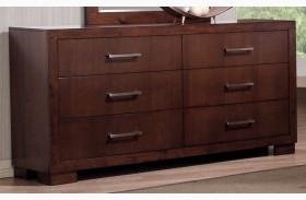 Jessica Dark Cappuccino Dresser