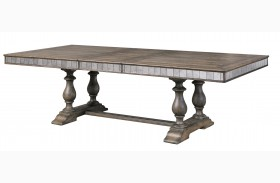 Accentrics Home Alekto Rectangular Extendable Dining Table