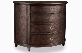 Classic Demilune Hall Chest
