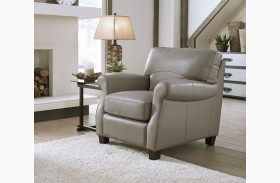 Carlyle Adobe Leather Chair