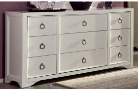 Furiani White Dresser by Donny Osmond