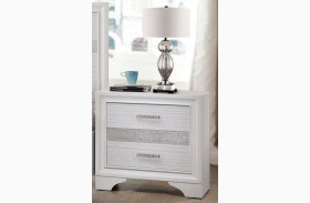 Miranda White Nightstand