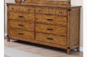 Brenner Rustic Honey Dresser