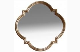 Cosmopolitan Bronze Shaped Mirror