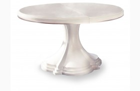 Cosmopolitan Parchment Round Dining Table