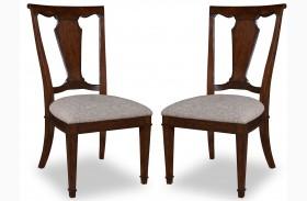 Egerton Wood Back Side Chair Set of 2