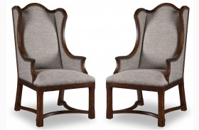 Egerton Upholstered Arm Chair Set of 2