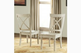 Aberdeen Weathered X Back Side Chair Set of 2
