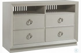Signature Designs White And Gray Wire Brushed Ceruse Zeitgeist Media Console