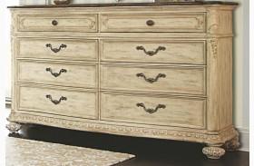 Jessica Mcclintock Boutique White Veil Revival Top Drawer Dresser