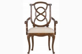 Arrondissement Heirloom Cherry Tuileries Arm Chair