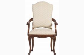 Arrondissement Heirloom Cherry Volute Arm Chair