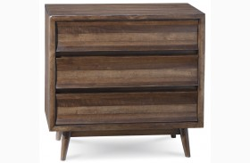 Epicenters Silver Lake 3 Drawer Bachelor Chest