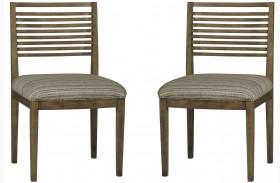 Epicenters Williamsburg Slat Back Side Chair Set of 2