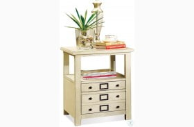 Sullivan Country White End Table