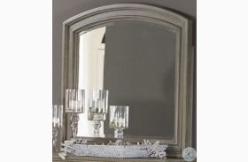 Bethel Wire Brushed Gray Mirror