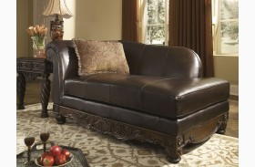 North shore dark brown living room set from ashley 22603 for Ashley north shore chaise