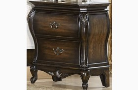 Bayard Park Dark Brown Cherry Nightstand