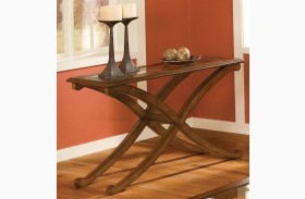 Madrid Golden Brown Cherry Sofa Table
