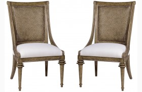 Pavilion Woven Back Sling Chair Set of 2