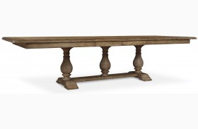 Pavilion Extendable Trestle Dining Table
