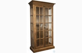 Hawthorne Barnwood Display Cabinet