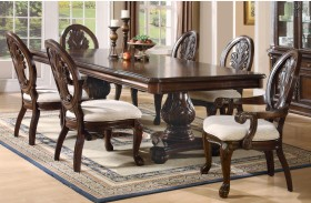 Tabitha Pedestal Dining Room Table