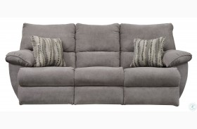 Sadler Mica Lay Flat Reclining Sofa With Drop Down Table
