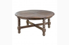 Samuelle Wooden Coffee Table
