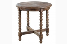 Samuelle Wooden End Table