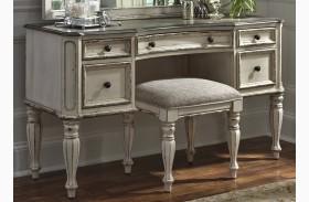 Magnolia Manor Antique Vanity Desk