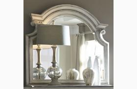 Magnolia Manor Antique White Mirror
