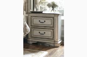 Magnolia Manor Antique White 2 Drawer Nightstand