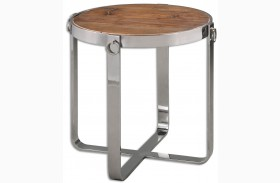 Berdine Wooden Side Table