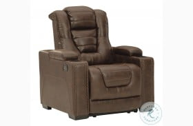 Owner's Box Thyme Power Recliner With Adjustable Headrest
