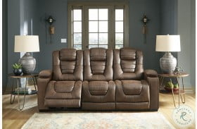 Owner's Box Thyme Power Reclining Sofa With Adjustable Headrest