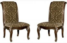 Gables Upholstered Back Side Chair Set of 2