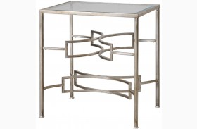 Eilinora Silver End Table